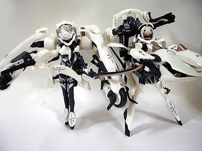 武装神姫 電撃リペイント版 アーク ストラレーダ イーダ ストラレーダ レビューレビュー