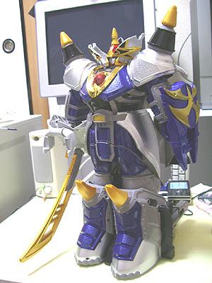 獣拳巨神 DX サイダイオー 簡易 レビュー